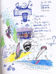 Skechbook page