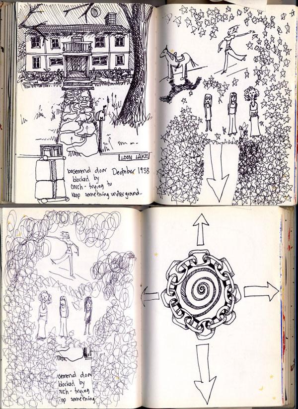 Old Sketchbook Drawing