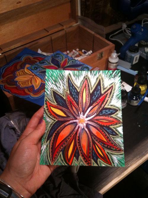 I like shiny paint... :-)
