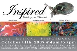 Inspired - Postcard Design