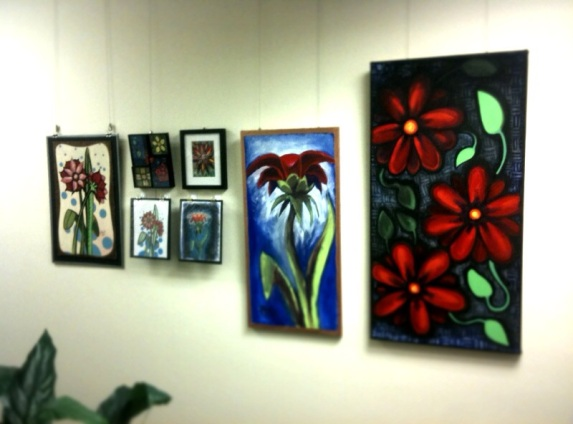 Photo from the art show I took down this weekend.