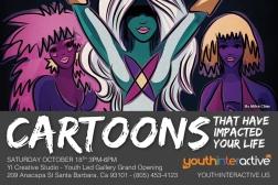 Cartoons at Youth Interactive