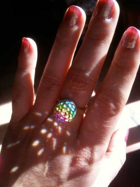 Vendome Ring from 1960's I got from 33 Jewels in Santa Barbara