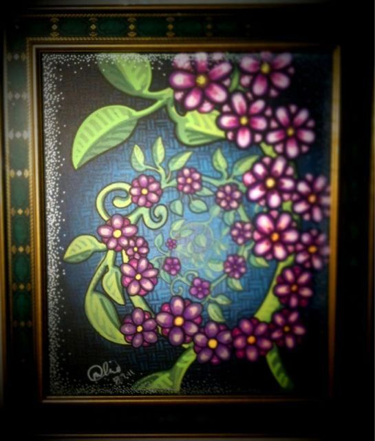 Spiral Flower Vine