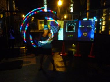 Black Light Stage- Kaile 2012