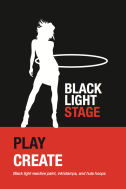 Black Light Stage