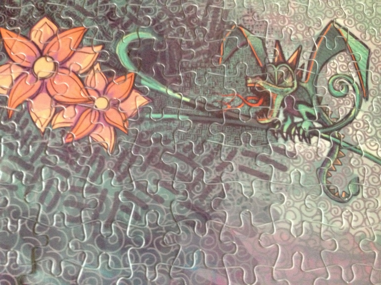 Puzzle Sublimation Prints by Mitra