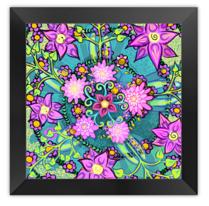 Buy a framed canvas print on BlueCanvas