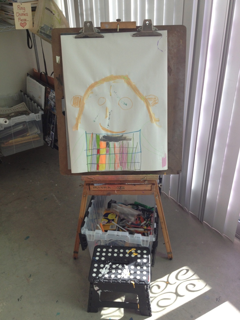 Drawing station #1
