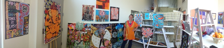 Guest Artist at Foreverbird Studio, Auna Salome