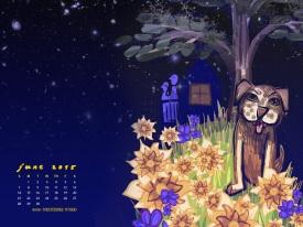 1152 × 864 June 2015 Calendar Art