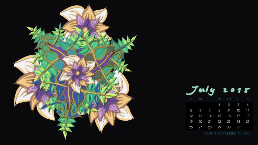 July2015FlowerCalendarMitraCline