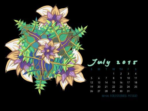 July2015FlowerCalendarMitraCline11
