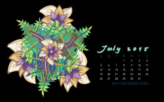 July2015FlowerCalendarMitraCline12