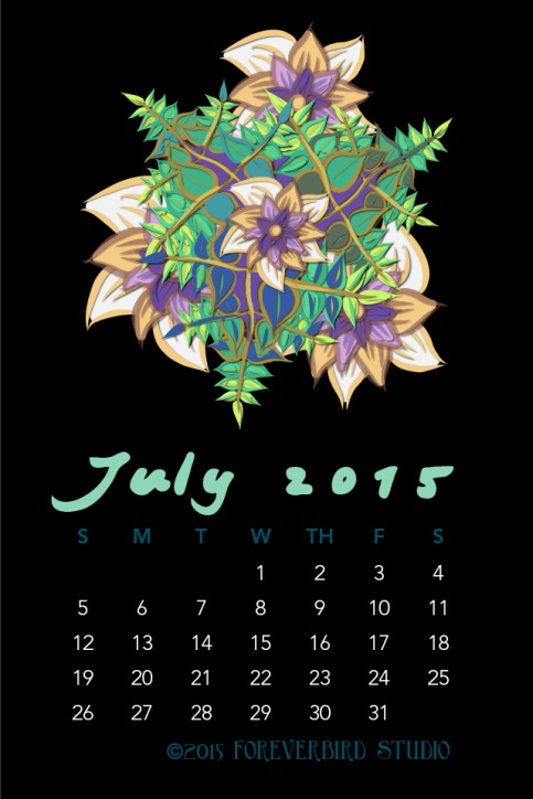 July2015FlowerCalendarMitraCline15