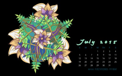 July2015FlowerCalendarMitraCline3