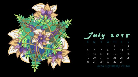 July2015FlowerCalendarMitraCline4