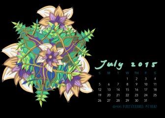 July2015FlowerCalendarMitraCline5