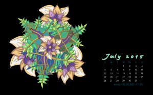 July2015FlowerCalendarMitraCline6