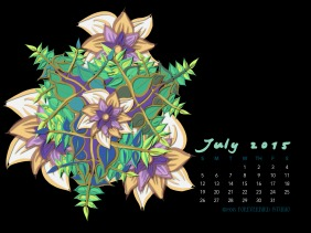 July2015FlowerCalendarMitraCline7
