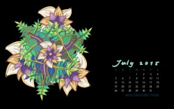 July2015FlowerCalendarMitraCline8