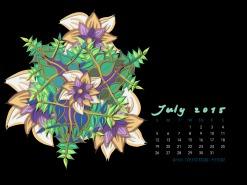 July2015FlowerCalendarMitraCline9