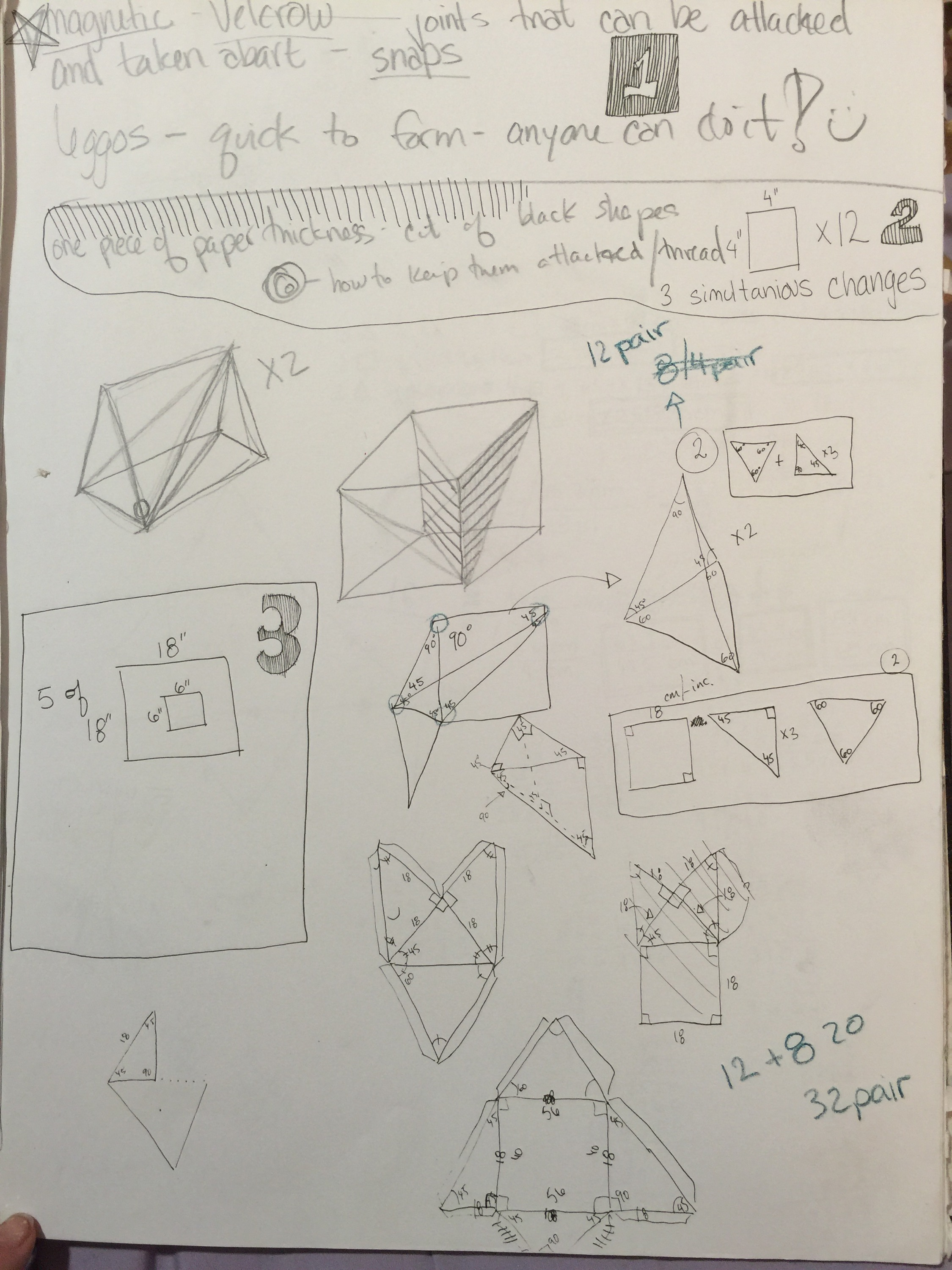 Magnetic platonic solid toy design – Mitra's Artist Diary