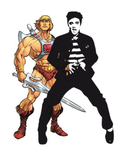 Heman and Elvis