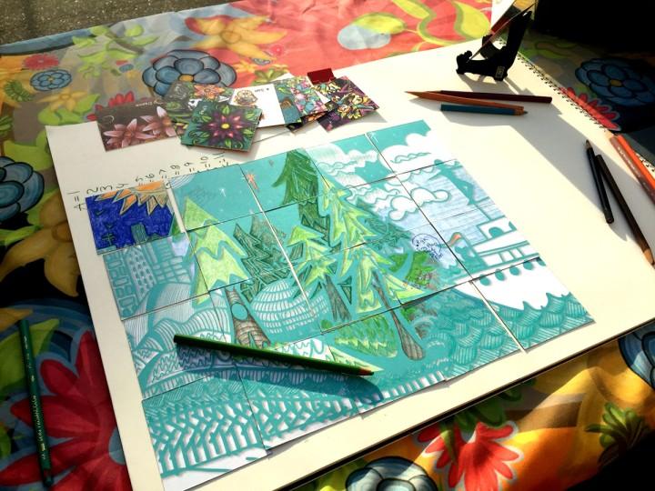 Origial Odyssey - coloring book puzzle