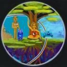 ancient rainbow couple digital drawing