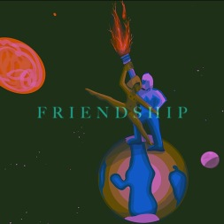 friendship dancing on earth