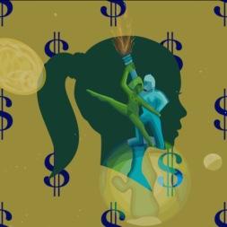 money dancing on earth