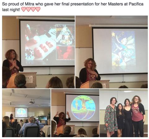mitra's graduate presentation