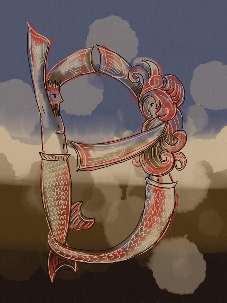 b mermaid
