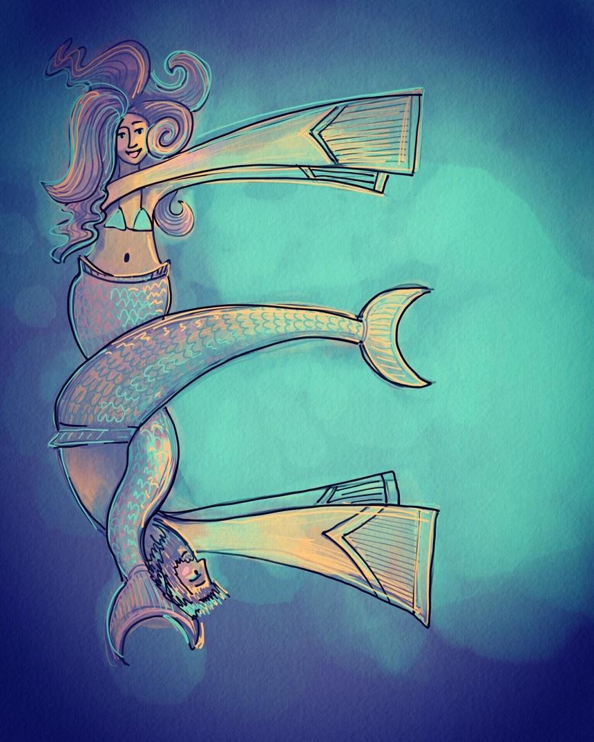 e mermaid