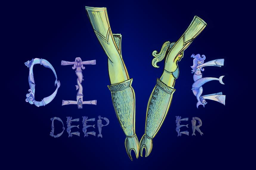 deep diver mermaids