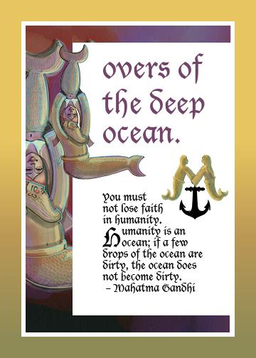 Mermaid Love Letter Illuminated Manuscripts2