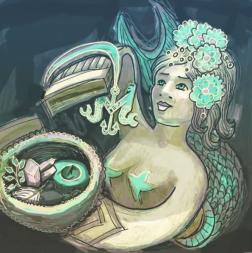 Screen mermaid