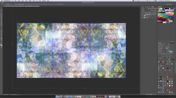 digital collage in photoshop still