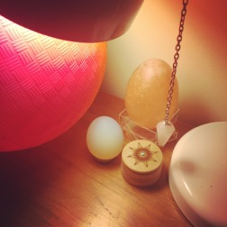 pink eggs
