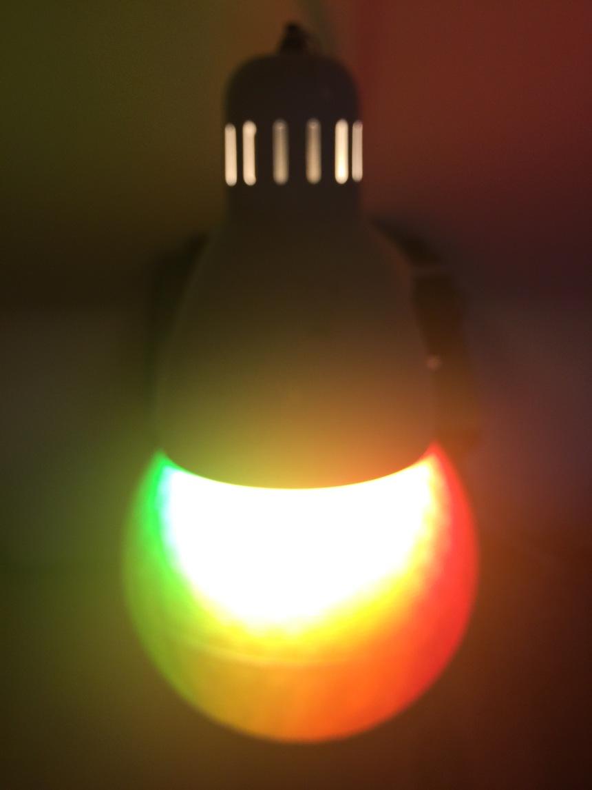 rainbow light ball