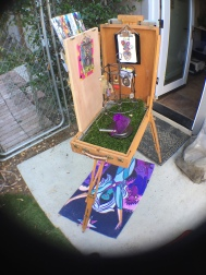 portable little art store side view
