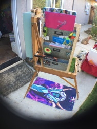 portable little art store