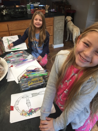 twins coloring mermaid love letters