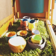 painted clay bowls
