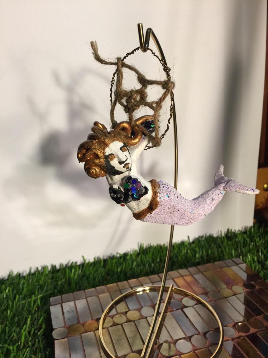 Flying Mermaid Woman