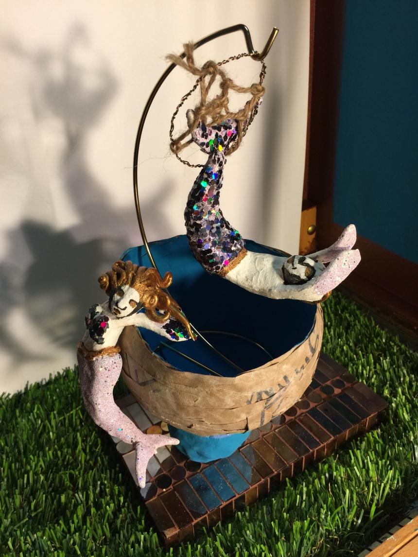 Circus Mermaid Couple