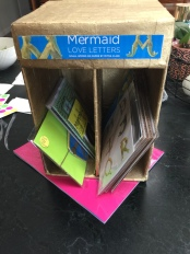 mermaid love letters mail box