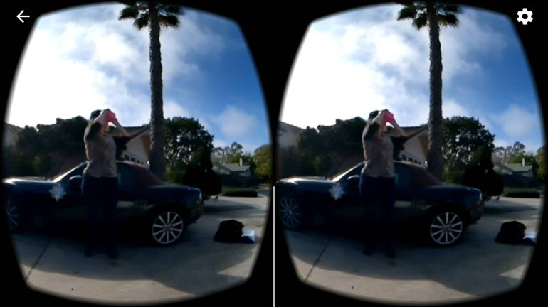 360 video VR View Screenshot