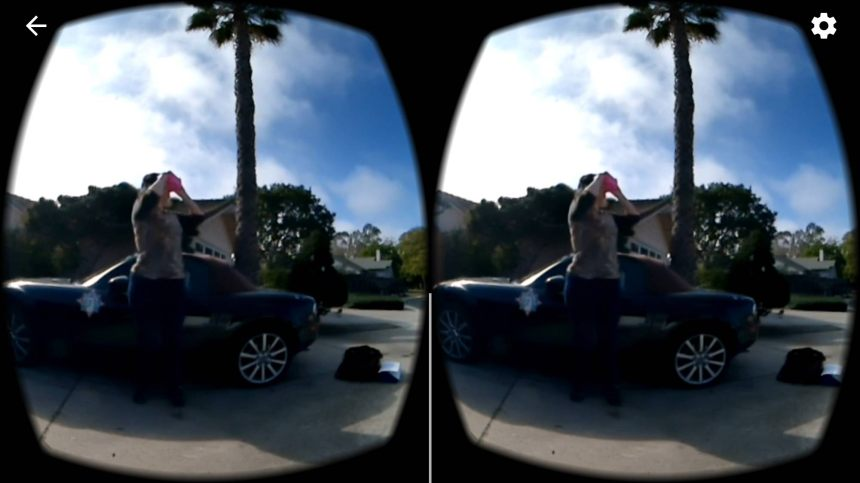 360 video VR View Screenshot